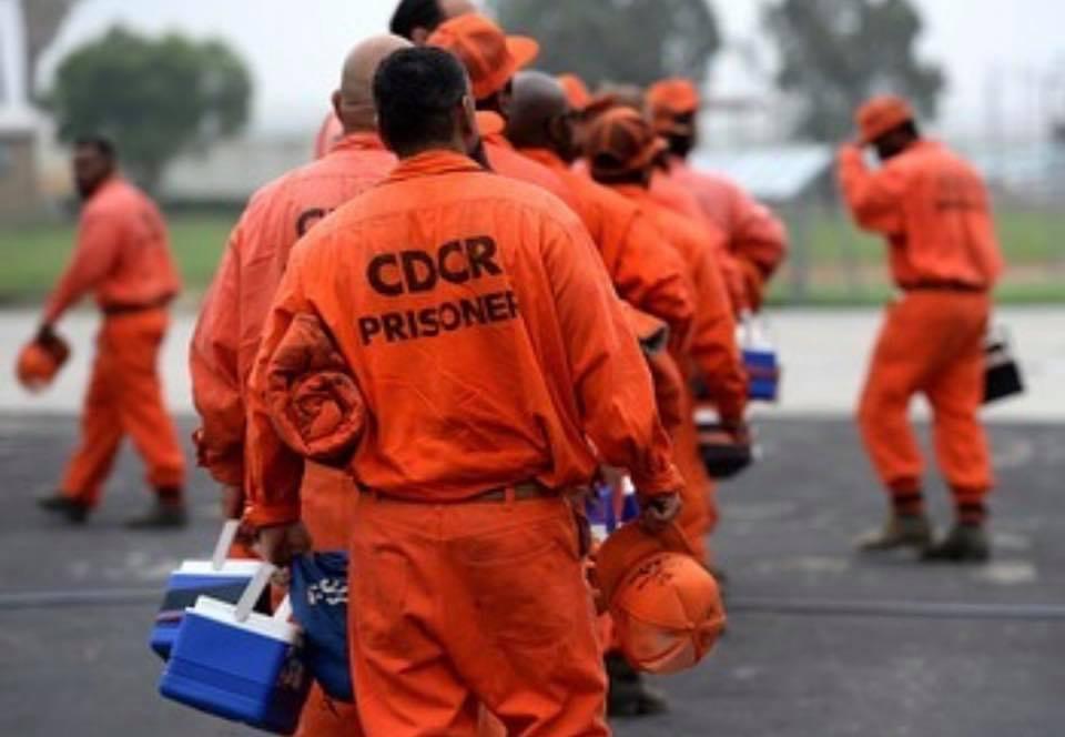 cdcr prisoner fire