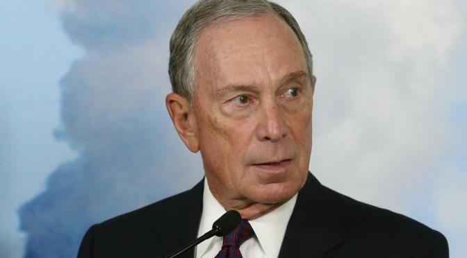 Bloomberg… Another crook on the doorstep…