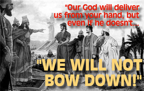 We Will Not Bow Down