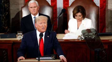 president trump state of the union 2020