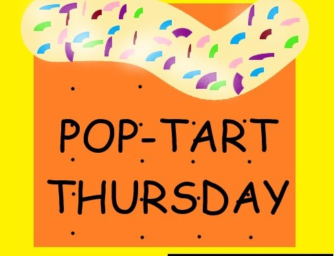 COLD WATER… POP TART THURSDAY